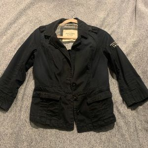 Abercrombie and Fitch Navy blue blazer